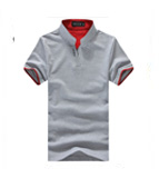 2016 Classic Solid Color Men Lapel POLO Shirt Short Sleeve Tee shirt Plus Sizes M L XL XXL 3XL